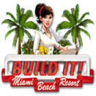 Download free flash game Build It! Miami Beach Resort