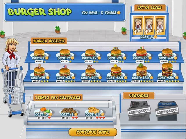 download burger shop 3 full version for free for pc