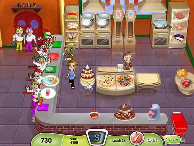 Free download Cooking Dash screenshot. Free download Cooking Dash game  Play Cooking Dash online for free