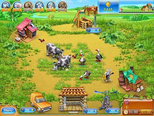 Free download Farm Frenzy 3: Russian Roulette game, Play