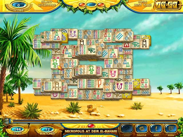 Free download Mahjongg - Ancient Egypt game, Play Mahjongg