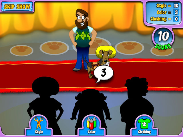 Free download Puppy Stylin` game, Play Puppy Stylin` online